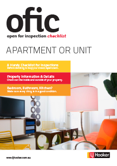 Open Apartment Inspection Checklist