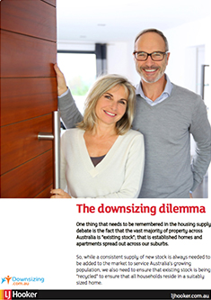 The downsizing dilemma white paper