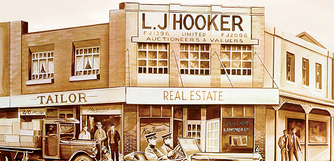 LJ Hooker's Heritage, History and Brand