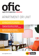 Free download Open Apartment Inspection Checklist