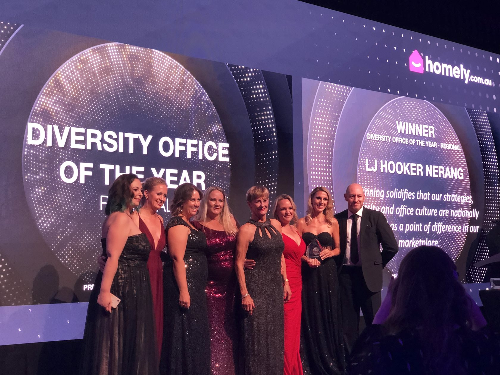 LJ Hooker wins at the REB Women in Real Estate Awards 2019